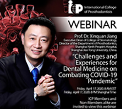 Xiquan Jiang ICP Webinar April 17, 2020